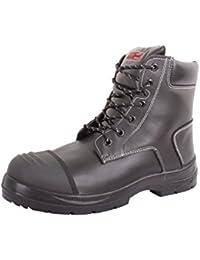 Security Line Rhone - Botas, Color Negro, Talla 39.5