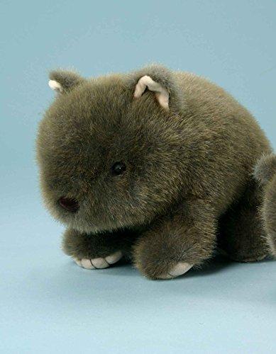 EBO 60187 Wombat, 23 cm, braun meliert, auf Foto links