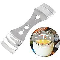 5pcs metal vela mecha titulares dispositivo de centrado 3agujeros Herramienta para hacer velas suministros