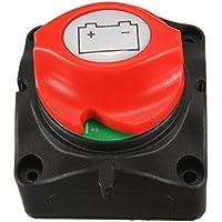 Interruptor seccionador «on/off» NUZAMAS con diseño extraíble para batería de coche, barcos y otros vehículos (12/24V)
