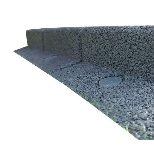 Flexiborder, recinzione flessibile per giardino,2x 1m, diversi colori