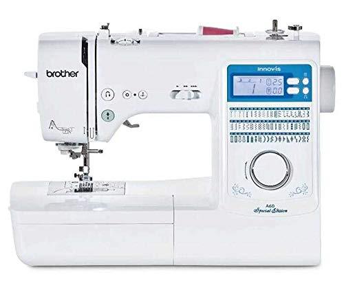 Brother CX70PE (Patchwork Edition) - Machine à coudre électronique avec 70 points (utilitaires, élastiques, décoratifs), Couture automatique, écran multifonctions