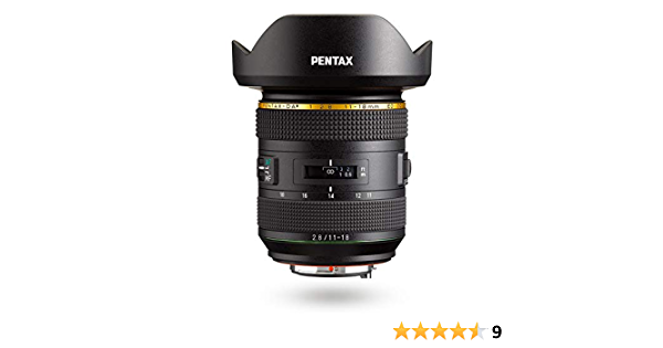 Hd Pentax Da 11 18 Mmf2 8ed Dc Aw Ultra Wide Angle Camera Photo