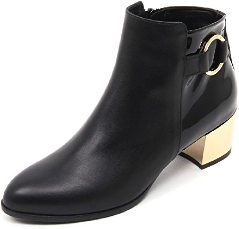 B7422 tronchetto donna HOGAN H272 stivaletto nero boot shoe woman