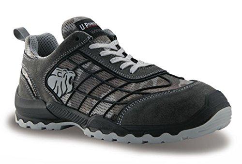 Chaussures de sécurité camouflage gris Mimetic S1P SRC Mimétique
