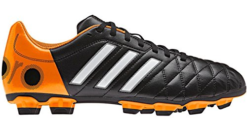 11QUESTRA TRX FG BLK- Chaussures Football Homme Adidas schwarz, orange