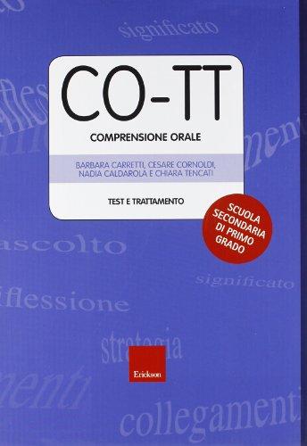 co-tt-comprensione-orale-test-e-trattamento-scuola-secondaria-di-primo-grado-con-dvd-rom
