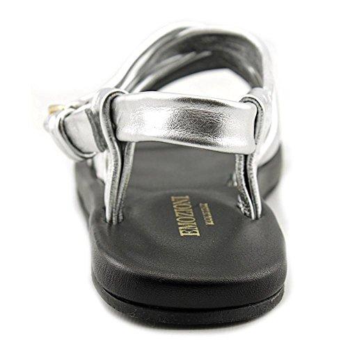 Emozioni W1325 Cuir Sandales Gladiateur silver