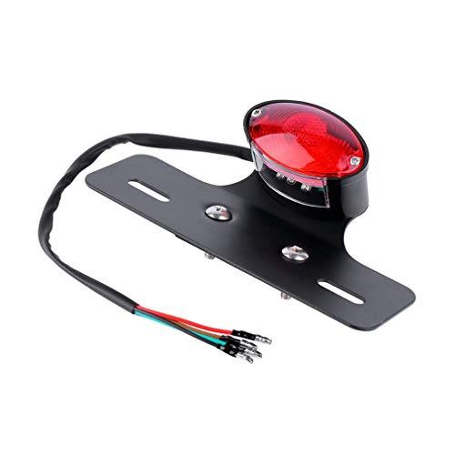 Leoboone Neue ROTE LED Schwanz Hinten Bremslicht Racer Bobber Benutzerdefinierte Motorrad Motorrad Stop blinker licht heißer verkauf (Motorrad-schwanz-net)