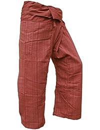 Panasiam® Fishermannhose: Lin, in rotbraun, XL