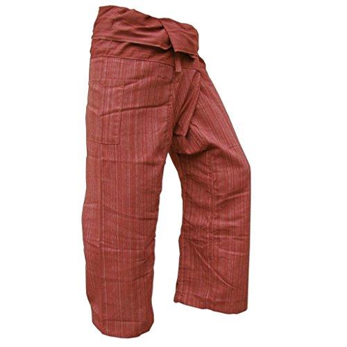 Fisherman pants Rotbraun