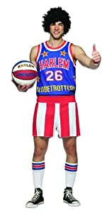 Harlem Globetrotters Halloween Costume - Adult Standard One Size