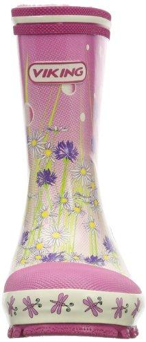 Viking  Flower Girl, Bottes à enfiler fille Rose - Pink (950)