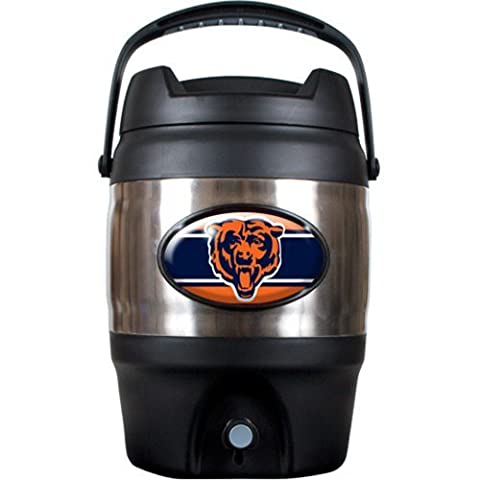 NFL Chicago Bears Stainless Steel Tailgate Jug, 3-Gallon by Great American Products