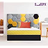 SleepX Urbain Memory Foam Mattress - (72x36x7 Inches) with Free Pillow