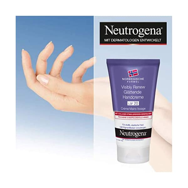 Neutrogena Visible Renew Crema De Manos – 3 Unidades x 75 ml.
