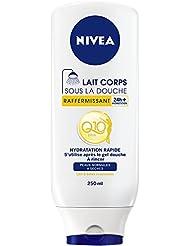 Nivea Lait Corps sous la Douche Raffermissant Peaux Normales à Sèches Q10 250 ml - Lot de 2