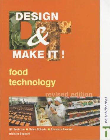 design-make-it-gcse-revised-food-technology-by-jill-robinson-2001-07-12