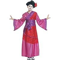 Widman - Disfraz de chino oriental para niña, talla 8 años (38716)