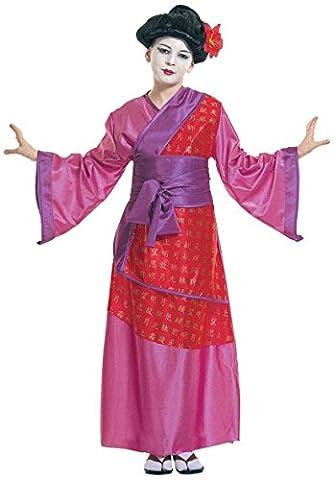 Geisha Idées De Maquillage - Widmann - Cs803871/158 - Costume Geisha Taille