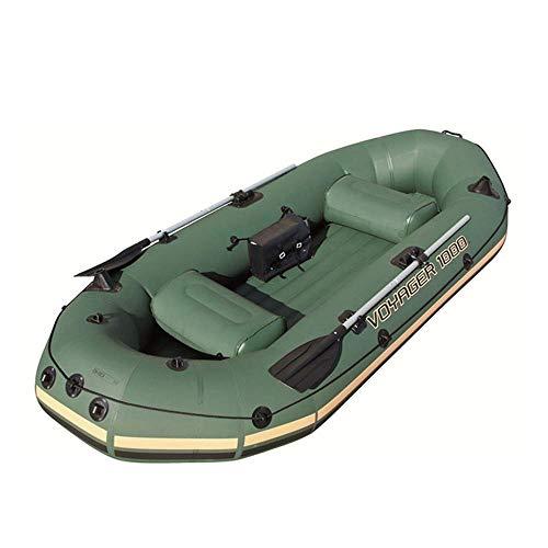 Kayak Bote Inflable De Kayak, Adecuado Para La Aventura, Deportes Marinos, Pesca, Actividades Al Aire Libre, Pesca Para 2-3 Personas,...