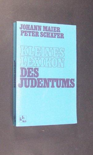 Kleines Lexikon des Judentums