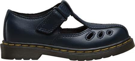 Dr. Martens Chaussures Ashby bébé fille chaussure décontractée en T en Bleu Marine et Rouge Bleu Marine