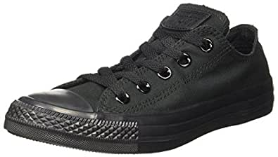 Converse Unisex Mono Black Sneakers - 3 UK/India (35 EU)(150764C)