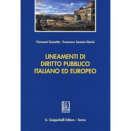 Lineamenti Di Diritto Pubblico Italiano Ed Europeo