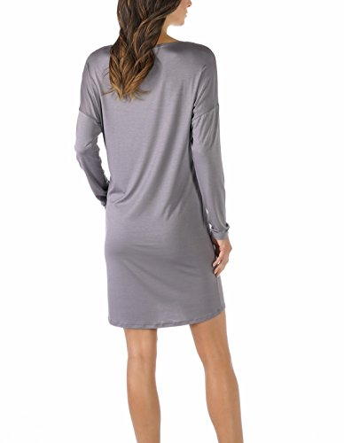 Mey Damen Nachthemd langarm 11934 Shale