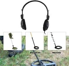 LasVogos Auricular Auricular para probador de Metales Detector de Oro Treasure Hunter Universal (Color: