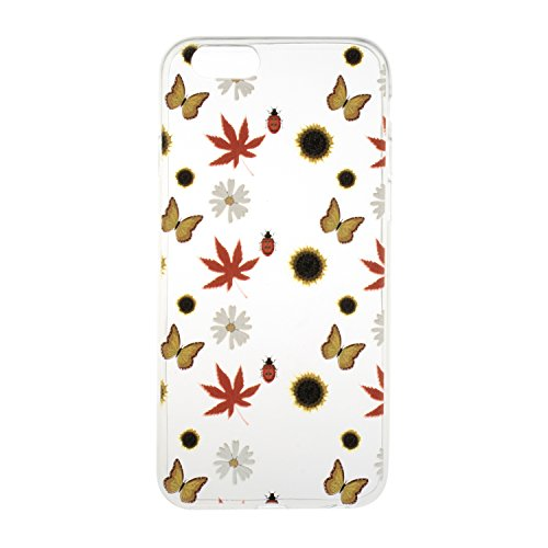 """iPhone 6 Plus,6S Plus 5.5"""" Coque, Etsue pour iPhone 6 Plus,6S Plus 5.5"""" Vogue Gel Housse étui de téléphone mobile ,TPU Silicone Matériau Transparente Ultra Mince Supérieur Semi Transparent Doux Coque  Automne Abondante"""