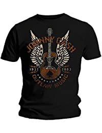 Official T Shirt JOHNNY CASH Vintage Classic OUTLAW MUSIC Logo All Sizes