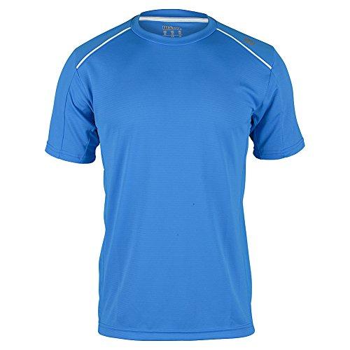 Wilson M Nvision Elite Crew Maglietta Blu