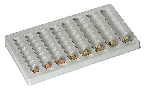 Zählbrett Kunststoff | 1, 2, 5, 10, 20, 50Cent | 1, 2Euro -