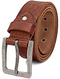 ROYALZ Cintura Uomo in robusta pelle di bufalo 4 mm c5a9d29e819