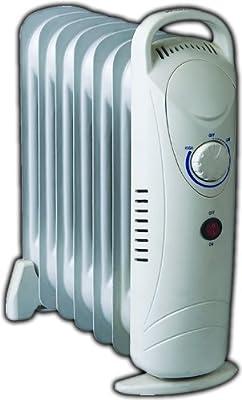 Ölradiator, 7-polig, kompakt, ölgefüllt, thermostatgesteuert, 700 W