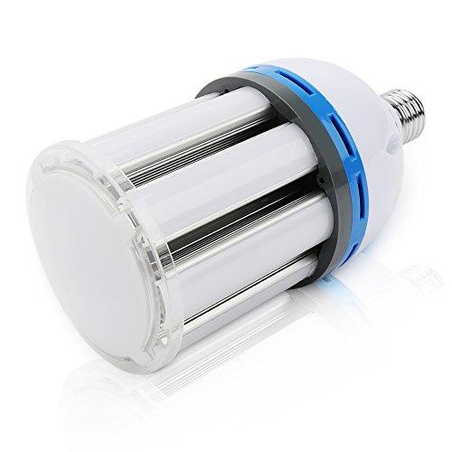 eSavebulbs 35W Tageslicht LED Mais Glühbirne für Indoor Outdoor Große Fläche - E26 / E27 6000K Tageslicht Weiß, für Street Lamp Post Beleuchtung Garage Factory Warehouse (Patio Lichter Post)