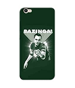 Be Awara Bazinga Man Color Art Designer Mobile Phone Case Back Cover For Vivo V5