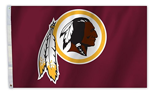 Rico Washington Redskins 3x 5Flagge Tüllen W/Outdoor House Banner Fußball - Heavy-duty-outdoor-banner