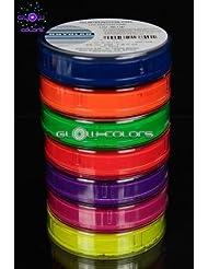 Kryolan - Pack Supracolor 7 couleurs fluorescentes 55g