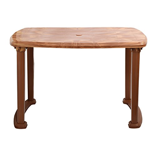 Cello Senator Four Seater Dining Table (Sandalwood Brown)