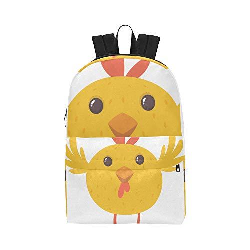 Schöne Kleine Huhn Klassische Wasserdichte Daypack Reisetaschen Kausalen College School Rucksäcke Rucksäcke Bookbag Für Kinder Frauen Männer -