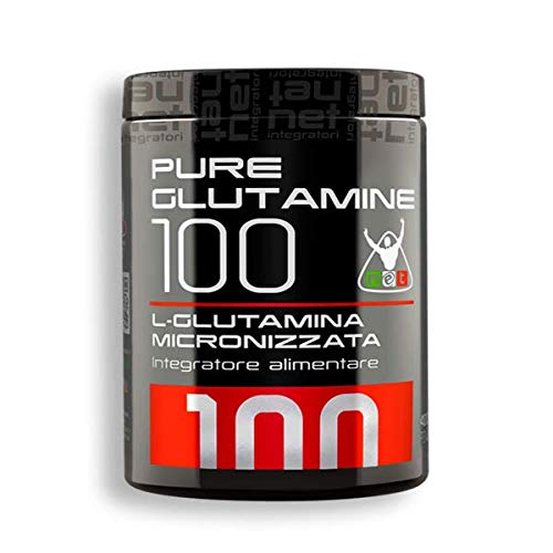 PURE GLUTAMINE 100 Glutammina 400g - NET Integratori [#1]