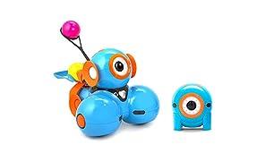 Wonder Workshop Robot Dash jouet pour filles et garçons pour apprendre à programmer en s'amusant – Le robot jouet éducatif MIST/STEM avec applications gratuites