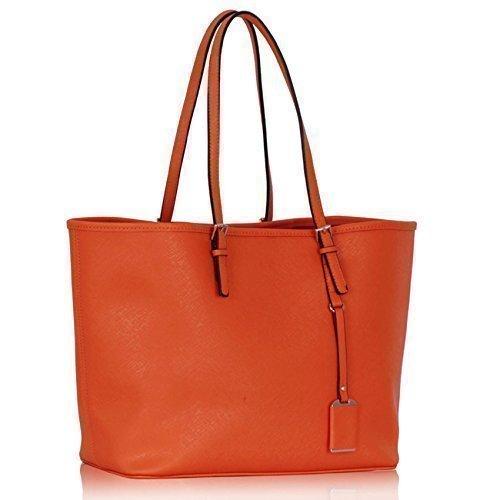 Trendstar-Frau-Entwerfer-Handtasche-Damen-Patent-Mode-fr-Leinentrage-Tasche