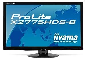 "iiYama ProLite X2775HDS-B1 Ecran PC LCD 27"" (68,5 cm) LED VGA/DVI HDMI Noir"