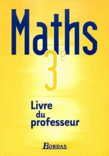 MATHS 3E PROF 2003