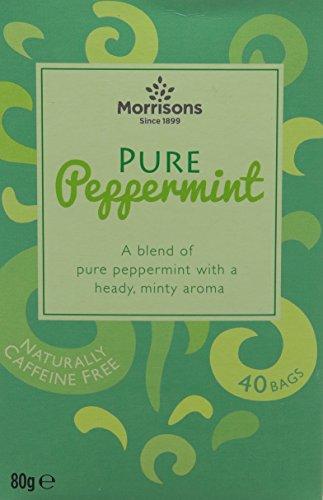 Morrisons Pure Peppermint Tea - 40 Bags, 80g