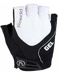 Roeckl Imuro guantes de ciclismo cortos blanco/negro 2016, Imuro, color Blanc - Blanc, tamaño 10,5
